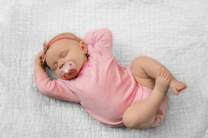 Sleep Solutions: baby girl sleeping